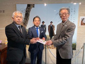 202102_柳川市校長会様より寄附金をいただきました